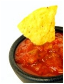 Determine if âdouble dippingâ chips really spreads more germs than dipping only once per chip.