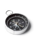 Demonstrate how you can make your own compass using a magnetized needle. It also allows you to compare magnetic north and geographic north.