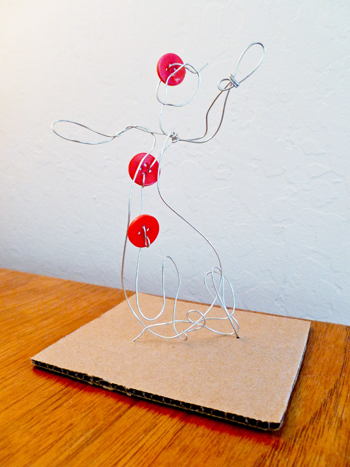 Fourth Grade Holidays & Seasons Activities: Wire Sculpture