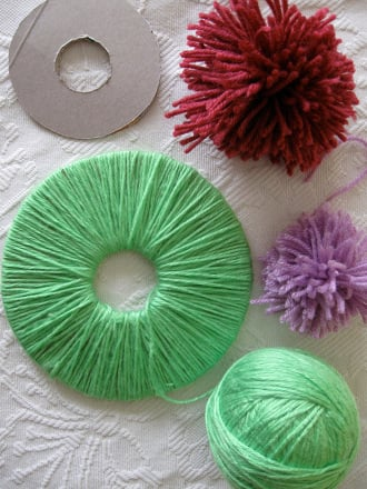 Fifth Grade Seasons Activities: Make Woolly Pompoms