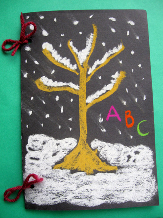 Kindergarten Seasons Activities: Learn Your Letters with a Winter Alphabet Book