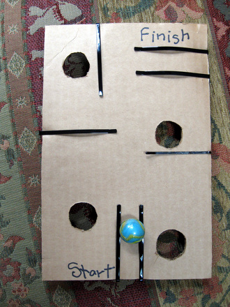 Third Grade Arts & crafts Activities: DIY Arcade Game
