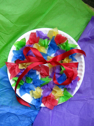 Kindergarten Holidays & Seasons Activities: Flower Basket Craft