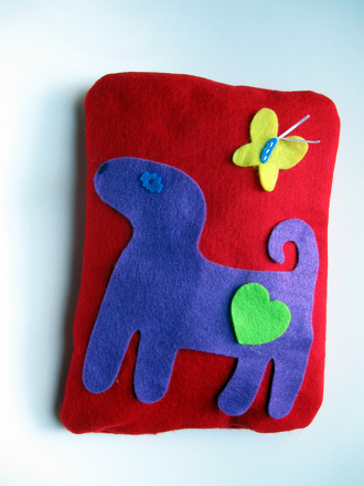 First Grade Arts & crafts Activities: Homemade Pillow
