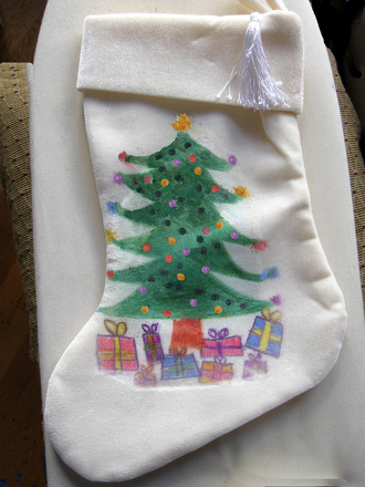 Preschool Holidays Activities: Fabric Transfers