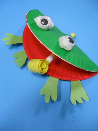 F is for frog craft activity for Frog crafts for preschoolers