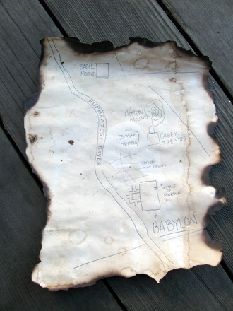 Middle School Study Skills Activities: Make Your Own Treasure Map