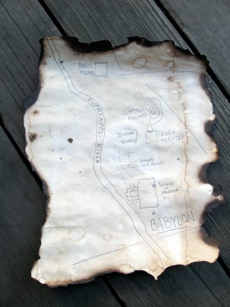 Middle School Social Studies Activities: Make Your Own Treasure Map