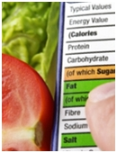 Determine whether fresh vegetables have more calories or less calories than canned vegetables.