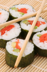 Middle School Recipes Activities: Make Sushi at Home!