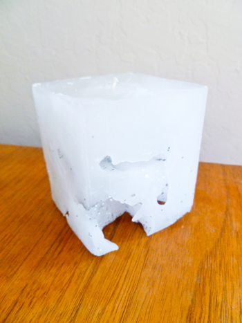 Fifth Grade Arts & Crafts Activities: Make Ice Cube Candles