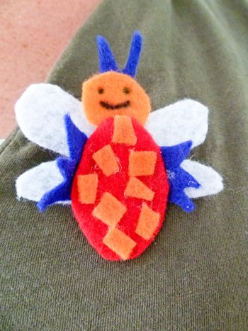 Second Grade Holidays & Seasons Activities: Bug Button