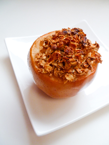 Middle School Recipes Activities: Baked Apples