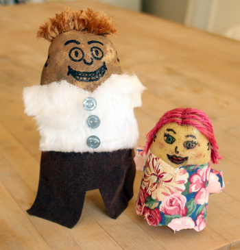 Kindergarten Arts & Crafts Activities: Potato People