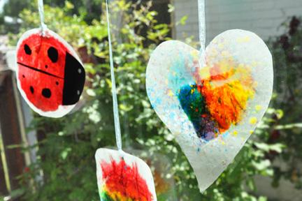 Kindergarten Arts & Crafts Activities: Make Stained Glass Crayons