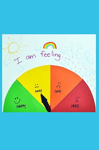 "Kindergarten Arts & Crafts Activities: Make a ""Mood Meter"" Sign"