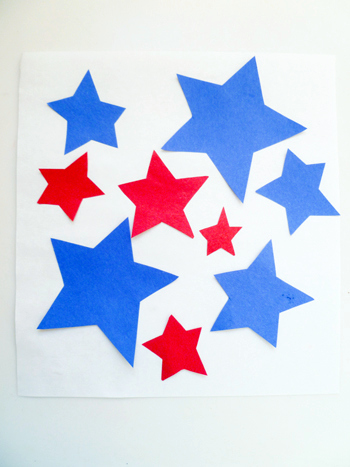 Third Grade Arts & crafts Activities: Star Collage
