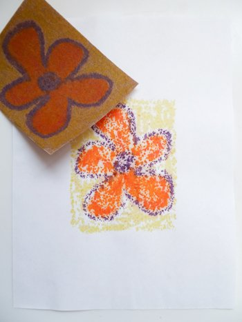 Middle School Arts & Crafts Activities: Make Sandpaper Transfer Art