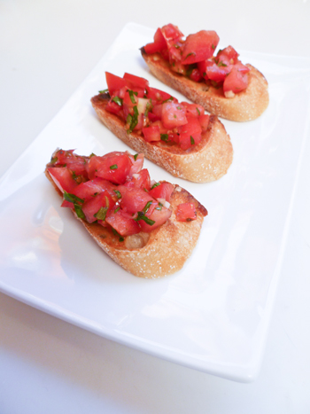 Fifth Grade Recipes Activities: Bruschetta