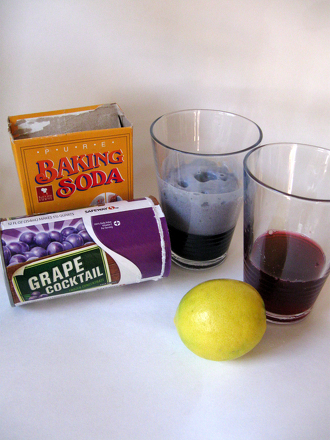 First Grade Science Activities: Explore Color Science with Grape Juice