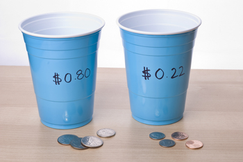 Second Grade Math Activities: Loose Change