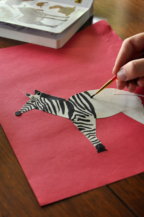 "Kindergarten Arts & Crafts Activities: ""Z"" is for Zebra!"