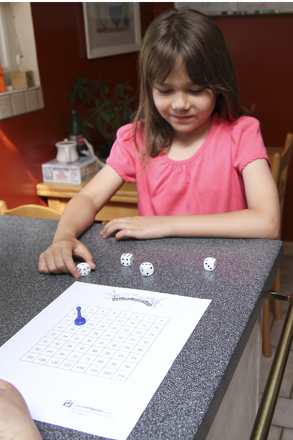 Fourth Grade Games Activities: Math Facts Dice Game