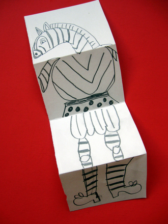 High School Arts & Crafts Activities: Revive French Surrealism: Play Exquisite Corpse!