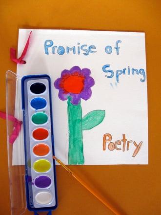 Third Grade Arts & crafts Activities: Nature Poetry