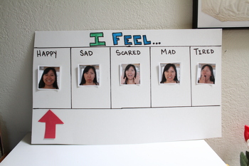 "First Grade Arts & crafts Activities: Make an ""I Feel"" Meter"