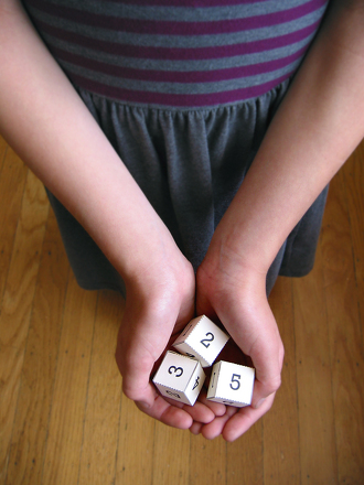 Second Grade Math Activities: Dice Trick