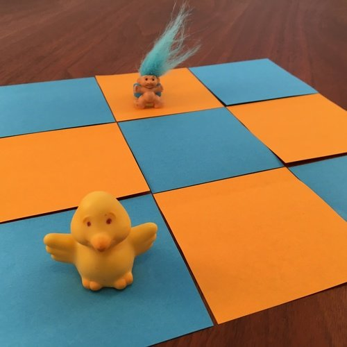 First Grade Science Activities: Toys on the Grid