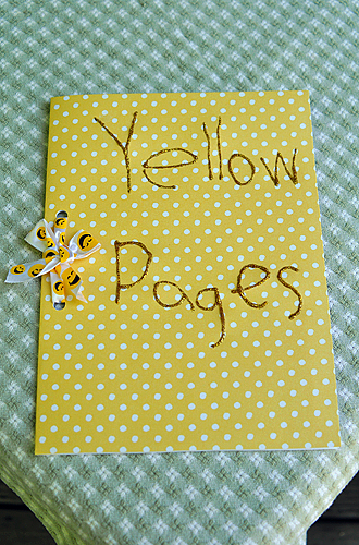 "Fourth Grade Reading & Writing Activities:  ""Yellow Pages"" for a New Neighbor"
