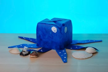 Kindergarten Arts & crafts Activities: Octopus Sculpture