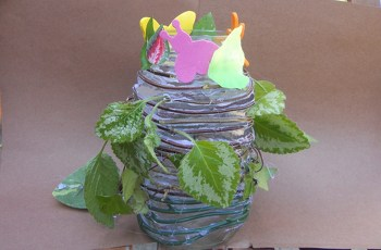 Fifth Grade Arts & Crafts Activities: Create a Vine Vase
