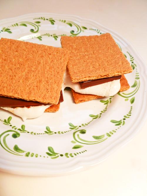 Second Grade Recipes Activities: Indoor Smores!