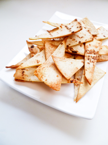 Third Grade Recipes Activities: Homemade Tortilla Chips