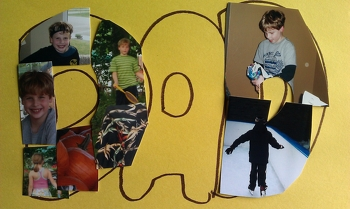 Second Grade Holidays Activities: Father's Day Collage
