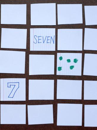Kindergarten Math Activities: Play Triple Match!