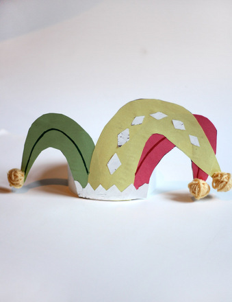 Kindergarten Arts & crafts Activities: Jester Hat