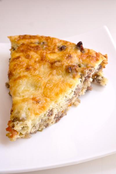 Middle School Recipes Activities: Cheeseburger Pie