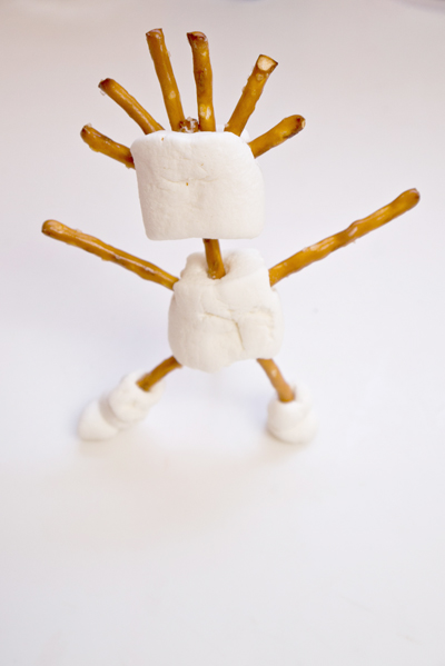 Kindergarten Arts & Crafts Activities: Marshmallow Sculpture