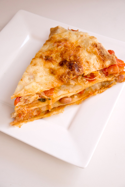 Fifth Grade Recipes Activities: Tortilla Lasagna Recipe