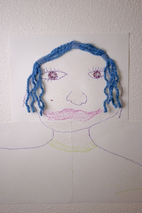 Kindergarten Arts & crafts Activities: Draw Your Self-Portrait