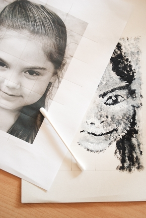 Fifth Grade Arts & crafts Activities: Make Your Own Pointillism Self-Portrait