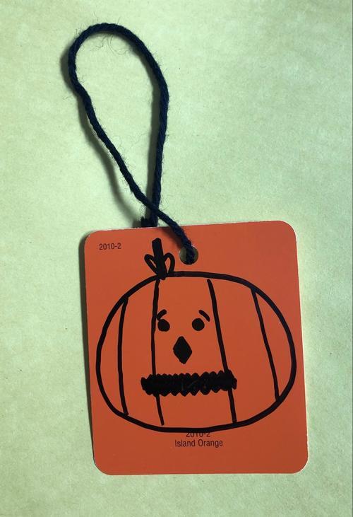Third Grade Holidays Activities: Make a Jack-o'-Lantern Bookmark