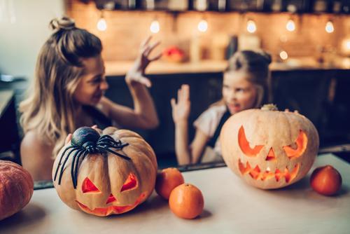 Kindergarten Holidays Activities: Make an Exploding Pumpkin