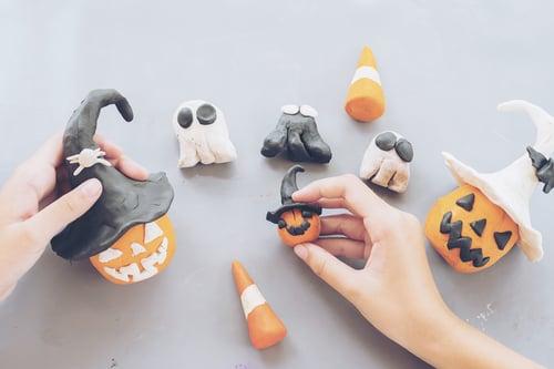Kindergarten Math Activities: Pumpkin Play Dough!