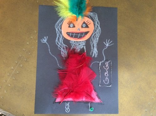 Second Grade Reading & Writing Activities: Create Your Own Pumpkin Person!