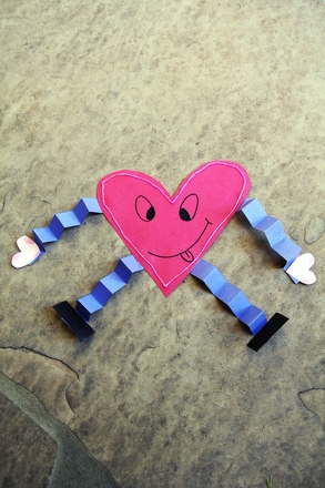 Kindergarten Holidays & Seasons Activities: Heart Man